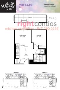 Daniels Wyatt Lark Floorplan, 20 Tubman Ave