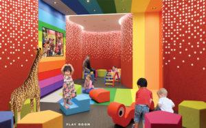 Daniels Wyatt Children's Play Room, 20 Tubman Ave