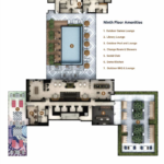 Line 5 Condos Amenities map
