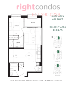 CG Tower Sage Floorplan