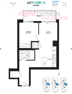 Daniels Artworks Applique Floorplan