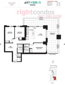 Daniels Artworks Crescendo Floorplan