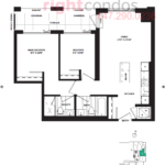 Daniels Artworks Rhapsody Floorplan