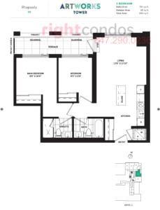 Daniels Artworks Rhapsody Floorplan