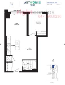 Daniels Artworks Verse Floorplan
