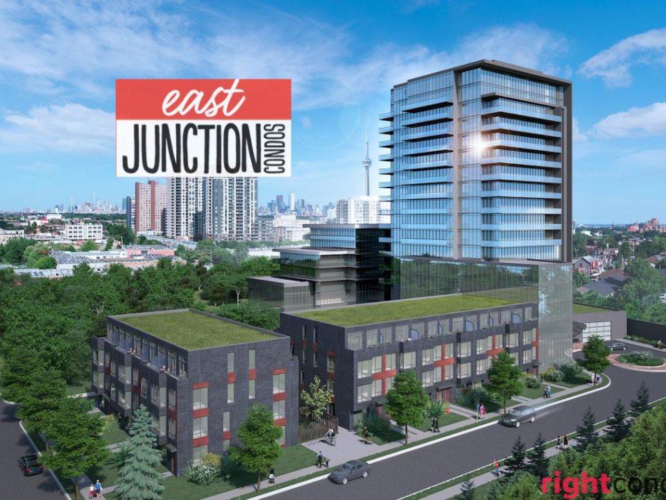 East Junction Condos Render