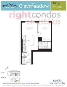 Daniels City Centre - Wesley Tower - Floorplan Claymeadow