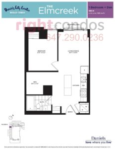 Daniels City Centre - Wesley Tower - Floorplan Elmcreek