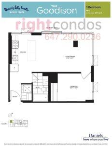 Daniels City Centre - Wesley Tower - Floorplan Goodison