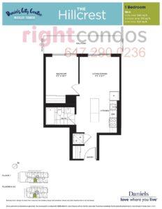 Daniels City Centre - Wesley Tower - Floorplan Hillcrest