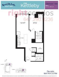 Daniels City Centre - Wesley Tower - Floorplan Kettleby