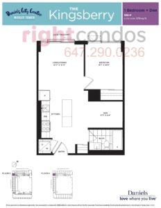 Wesley Tower - Floorplan Kingsberry