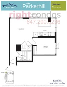 Daniels City Centre - Wesley Tower - Floorplan Parkerhill