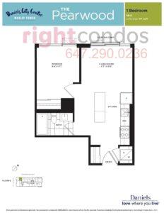 Daniels City Centre - Wesley Tower - Floorplan Pearwood