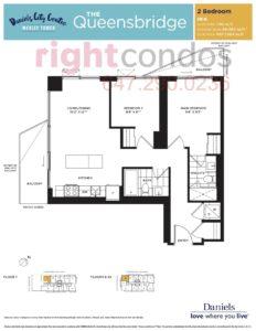 Daniels City Centre - Wesley Tower - Floorplan Queensbridge