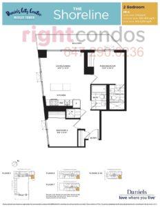 Daniels City Centre - Wesley Tower - Floorplan Shoreline