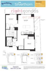 Daniels City Centre - Wesley Tower - Floorplan Silverthorn