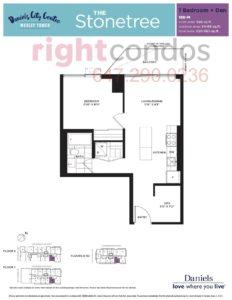Daniels City Centre - Wesley Tower - Floorplan Stonetree