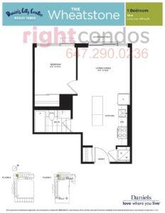 Daniels City Centre - Wesley Tower - Floorplan Wheatstone