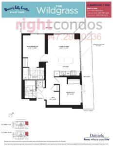 Daniels City Centre - Wesley Tower - Floorplan Wildgrass