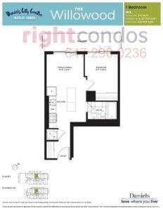 Daniels City Centre - Wesley Tower - Floorplan Willowood
