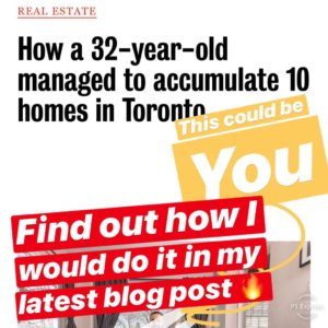 How to accumulate property and where to start blog post