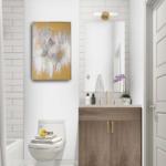 Clarkson Urban Towns Bathroom Render