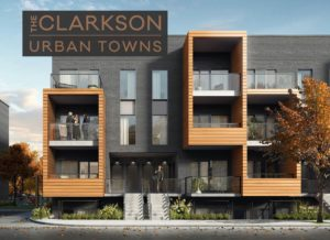 Clarkson Urban Towns Exterior Render