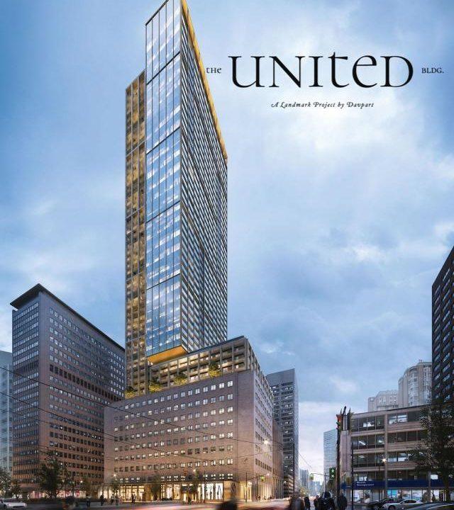United Building Condos Render