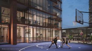 55 Mercer Basketball Court