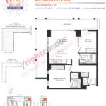 Daniels DuEast Boutique Brilliance Floorplan