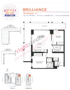 Daniels DuEast Boutique Brilliance Floorplan
