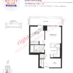 Daniels DuEast Boutique Sunrise Floorplan
