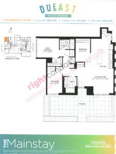 Daniels DuEast Mainstay Floorplan