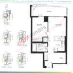 Daniels DuEast Meridian Floorplan