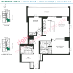 Daniels DuEast Spinnaker Floorplan