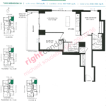 Daniels DuEast Vector Floorplan