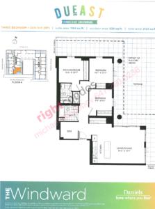 Daniels DuEast Windward Floorplan