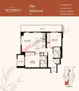 Daniels The Thornhill Atkinson Floorplan/Layout