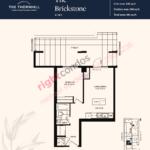 Daniels The Thornhill Brickstone Floorplan Layout