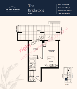 Daniels The Thornhill Brickstone Floorplan Layout
