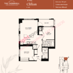 Daniels The Thornhill Clifton Floorplan Layout