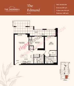 Daniels The Thornhill Edmund Floorplan Layout