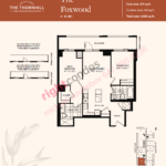 Daniels The Thornhill Foxwood Floorplan Layout