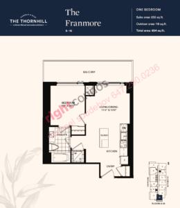 Daniels The Thornhill Franmore Floorplan Layout