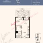 Daniels The Thornhill Glen Floorplan Layout