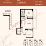 Daniels The Thornhill Highcliffe Floorplan Layout