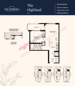 Daniels The Thornhill Highland Floorplan Layout