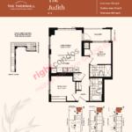 Daniels The Thornhill Judith Floorplan Layout