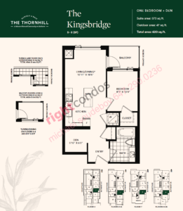 Daniels The Thornhill Kingsbridge Floorplan Layout